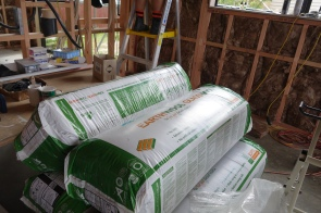 we used Earthwool Insulation