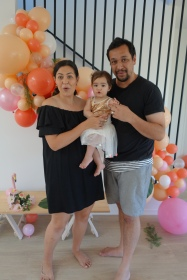 Mia's 1st birtday