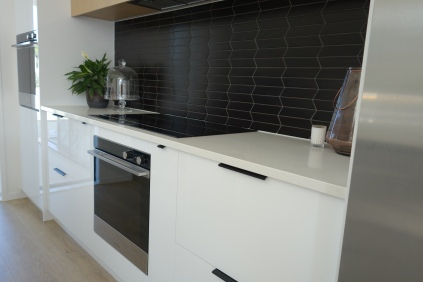 Love love love our splash back tiles from Tile Warehouse